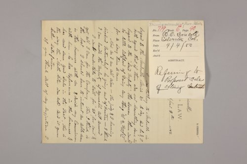 Alphabetical correspondence, O-R - Page