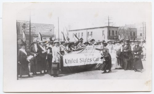 Delegates to the Kansas Equal Suffrage Association, Topeka, Kansas - Page