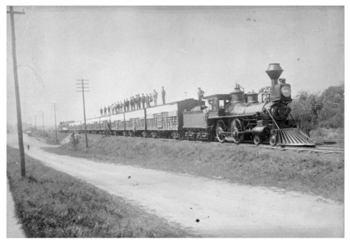 Stock train in Caldwell, Kansas - Page
