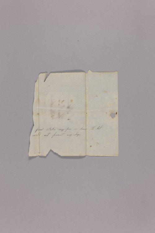 Barholomew McDanield correspondence - Page