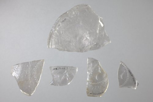 Pressed Glass Dish Fragments from the Baker Store, 14MO701 - Page
