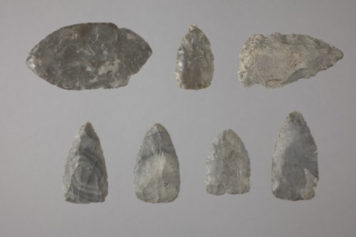 Projectile Point Preforms from the Wullscheleger Site, 14MH301 - Page