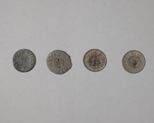 Metal Buttons from the Mahaffie Farmstead and Stagecoach Stop, 14JO356 - Page