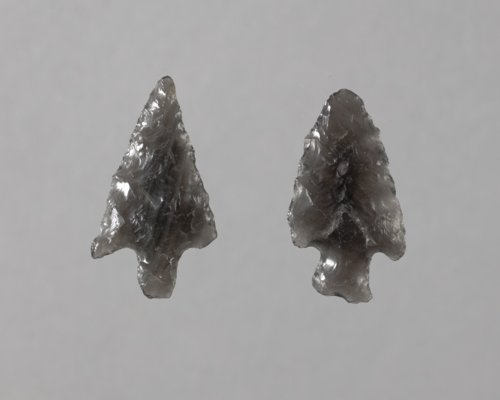 Obsidian Arrow Points from Morris County - Page