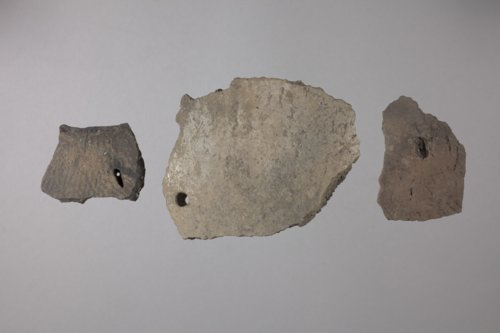 Pottery with Repair Holes from the Wullscheleger Site, 14MH301 - Page
