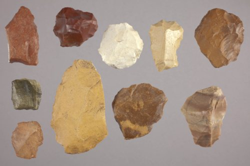 Artifacts from a Lithic Workshop, 14GO405 - Page