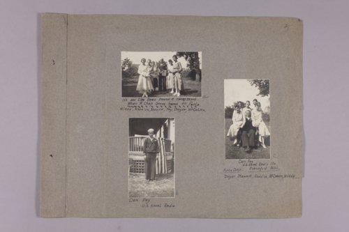 Martha Farnsworth scrapbook #4 - Page