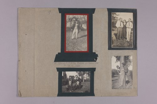 Martha Farnsworth scrapbook #4 - Page