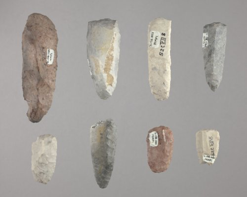 Scrapers from the Paint Creek Site, 14MP1 - Page