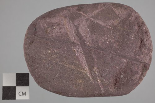 Abrader from the Paint Creek Site, 14MP1 - Page
