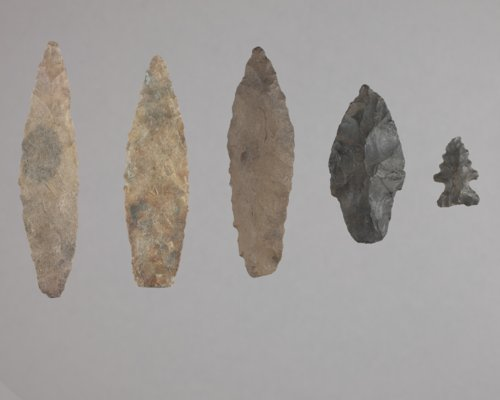 Projectile Points from 14WY408 - Page