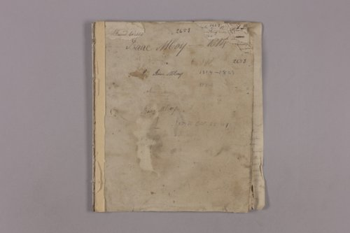 Isaac McCoy journal - Page