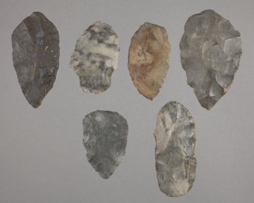 Bifaces from the Wullscheleger Site, 14MH301 - Page