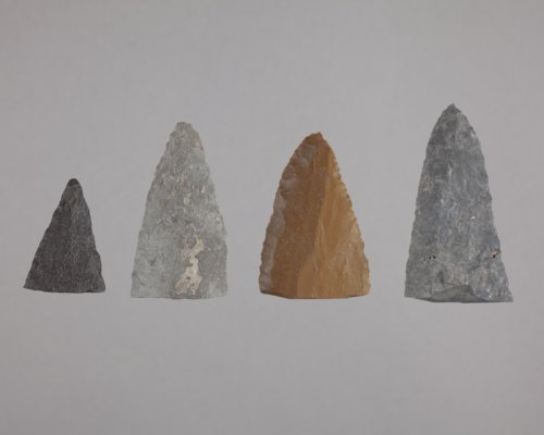 Knife Fragments from the Tobias Site, 14RC8 - Page