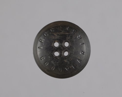 India Rubber Company Button from the Martin Farmstead, 14RP322 - Page
