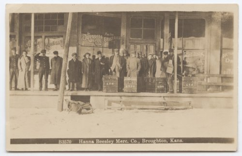 Hanna Beesley Mercantile Company in Broughton, Kansas - Page