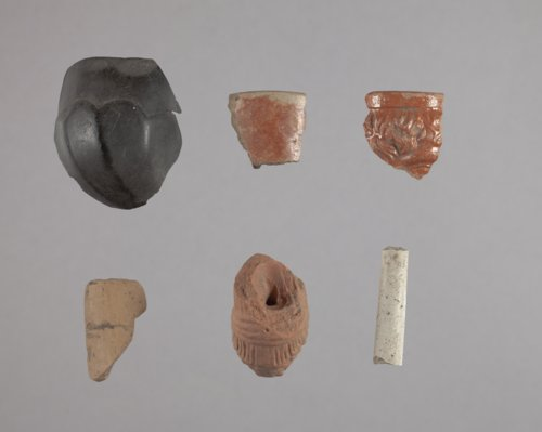 Ceramic Pipe Fragments from Fort Zarah, 14BT301 - Page