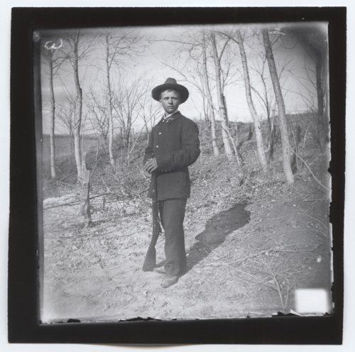 Spanish American solider, Trego County, Kansas - Page