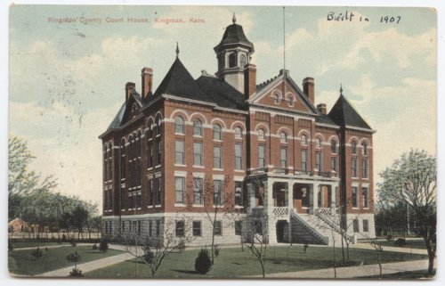 Kingman County Courthouse, Kingman, Kansas - Page