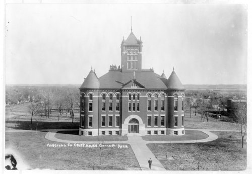 Anderson County Courthouse, Garnett, Kansas - Page