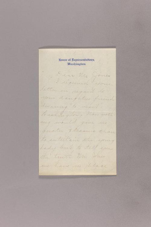 Dollie Gann Curtis correspondence - Page