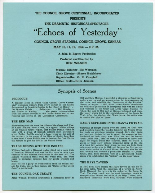 Echoes of Yesterday - Page