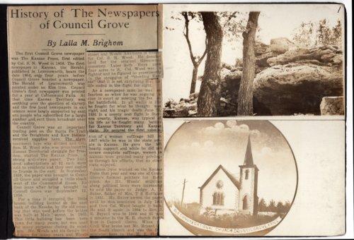 Anna Gibbs Centennial Scrapbook - Page