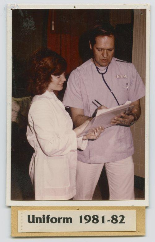Nurses uniform, 1981-1982 - Page