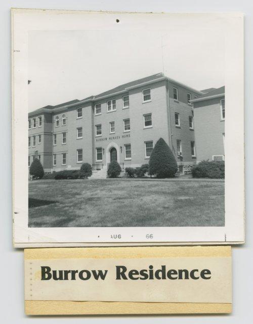 Burrow Nursing Home Topeka, Kansas - Page