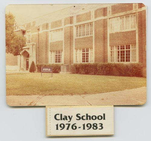Clay School Topeka, Kansas - Page
