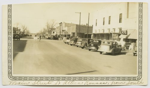 Main Street in Attica, Kansas - Page
