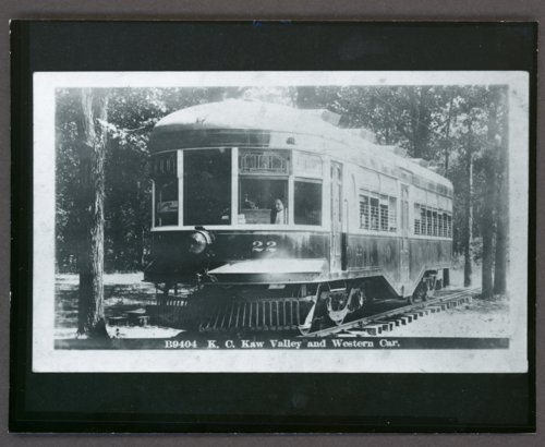 B9404 K. C. Kaw Valley and Western Car number 22 - Page