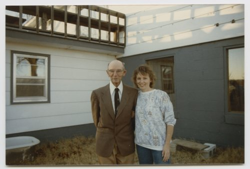 Vernon Krehbiel with daughter, Joan Krehbiel Pease - Page