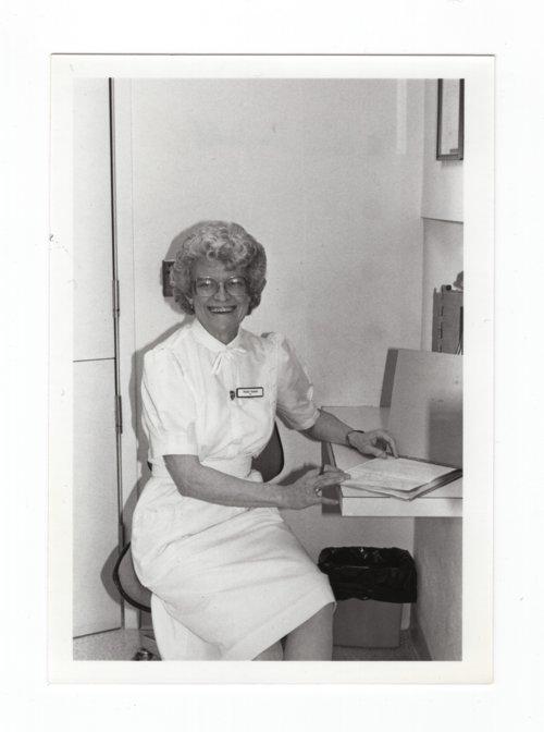 Halstead Hospital staff member Phyllis Neufeld - Page