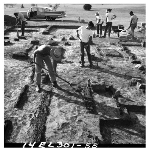 1966 Excavations at Fort Hays, 14EL301 - Page