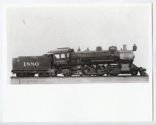 Atchison, Topeka, and Santa Fe Railway Company's Steam Locomotive Number 1880 - Page