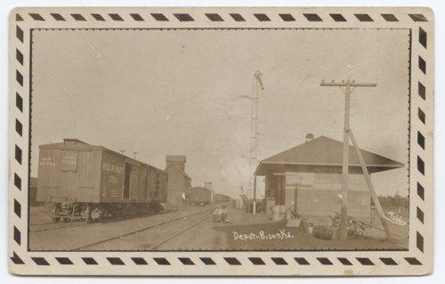 Missouri Pacific Railroad depot, Bison, Kansas - Page