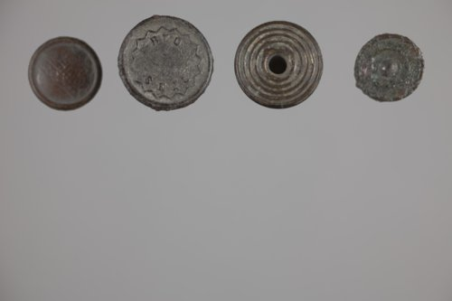 Metal Buttons from the Martindale Cabin, 14GR332 - Page