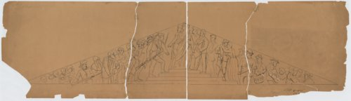 Sketches of Kansas Statehouse pediments - Page