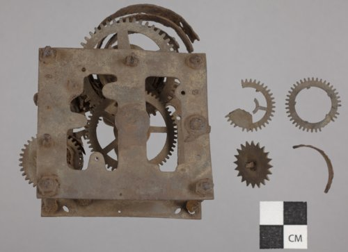 A Clock's Spring Mechanism from 14CT380 - Page