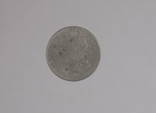 1866 Three cent coin from Fort Hays, 14EL301 - Page