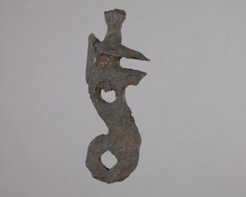 Flintlock Hammer from the Canville Trading Post, 14NO396 - Page