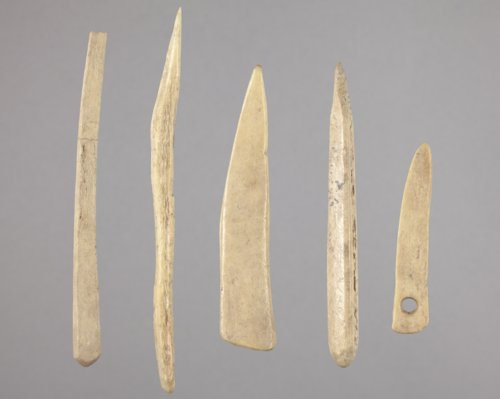 Bone Needle and Awls from the Tobias Site, 14RC8 - Page