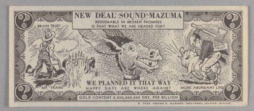 Anti-New Deal handbill - Page