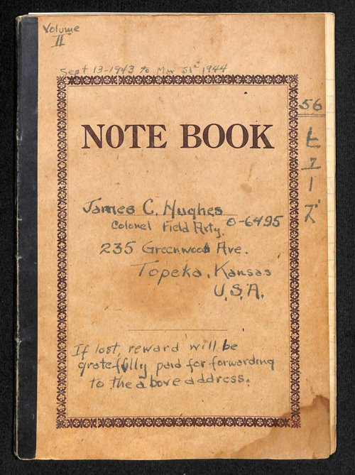 Colonel James C. Hughes diary, volume 2 - Page