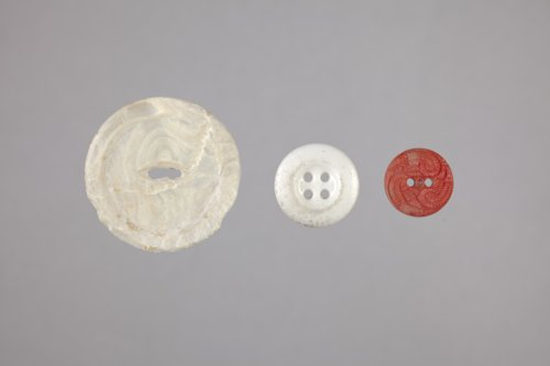 Buttons from the Levi Mann Homestead Site, 14CS703 - Page