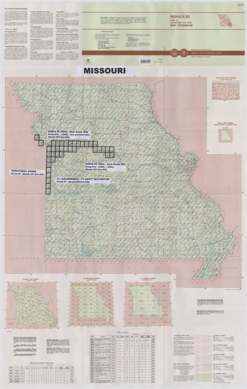 Kroh Collection. State index maps - Page