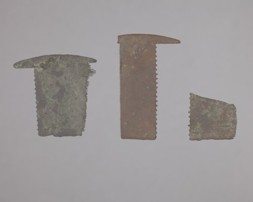 Comb Fragments from the 102 Steel Point Site, 14MO414 - Page