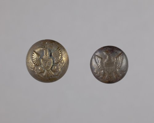 Military Buttons from Fort Hays, 14EL301 - Page