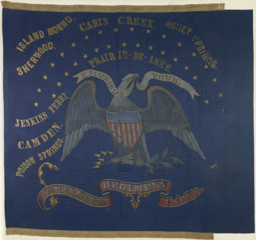 1st Kansas Colored Infantry flag - Page